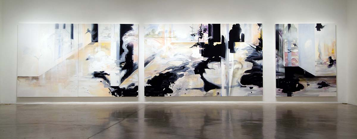 "White Cube - 5 Panels 96""x 78""ea."