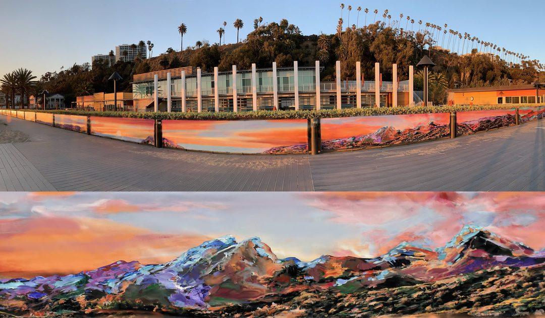 Mural Invites Beachgoers to Stroll Inside